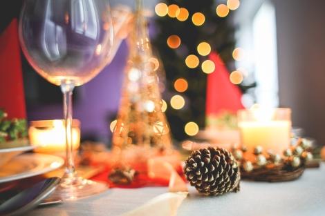 Christmastablesetting