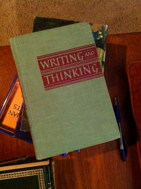 writing and thinking book