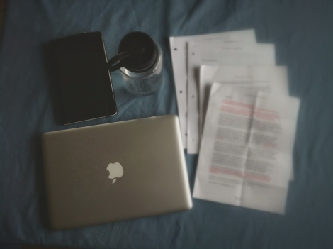 book writing table