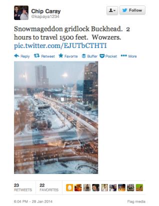 snowpocalypse gridlock