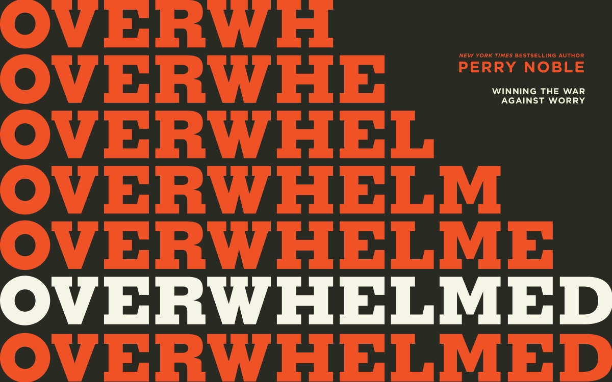 "An Honest Christian Look At Depression: Perry Noble's Book, ""Overwhelmed"""