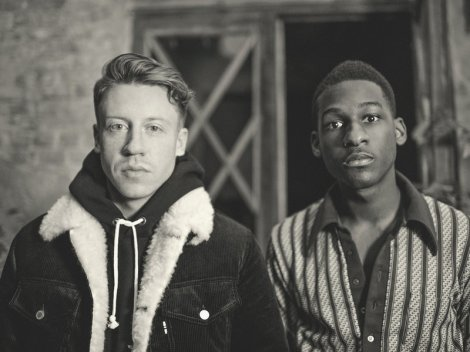 Macklemore and Leon Bridges. (image credit: J Koenig)