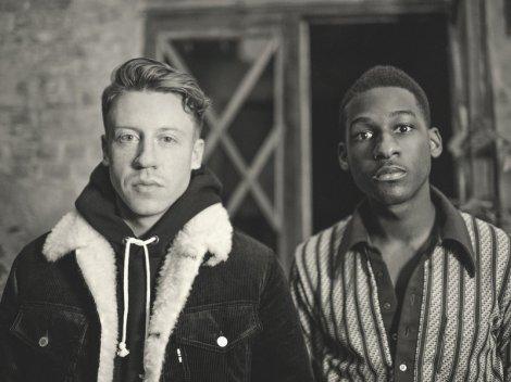 Macklemore and Leon Bridges. (image credit: J Koenig)